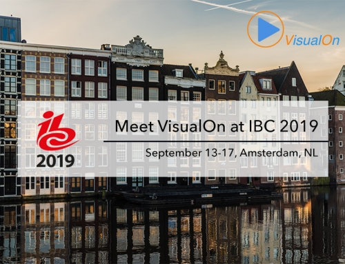 Meet VisualOn at IBC2019