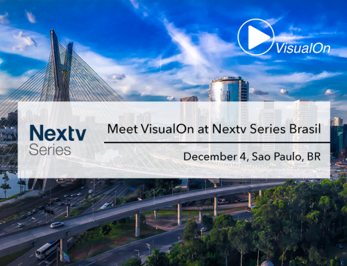 Meet VisualOn at Nextv Series Brasil