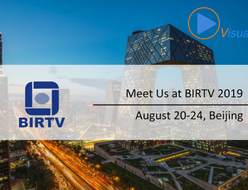 Meet VisualOn at BIRTV 2019