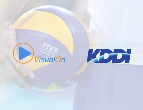 VisualOn Partners With KDDI to Stream the FIVB Volleyball World Cup Japan 2019 Broadcast by Fuji Television, Pioneering the Use of Ultra Low Latency CMAF and Multiple Camera Angles for Live Sports in Japan