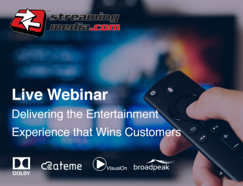 Live Webinar: Delivering the Entertainment Experience that Wins Customers