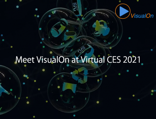 Meet VisualOn at Virtual CES2021