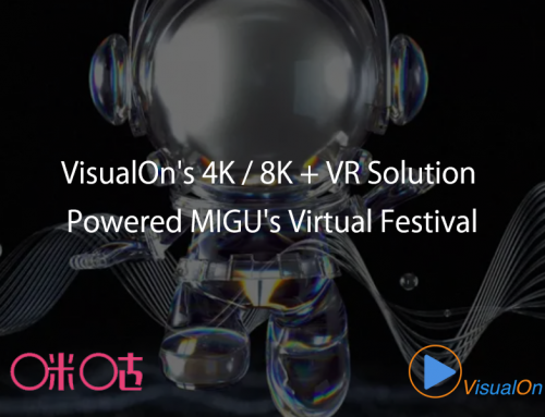 VisualOn's 4K / 8K + VR solution powered MIGU's virtual festival