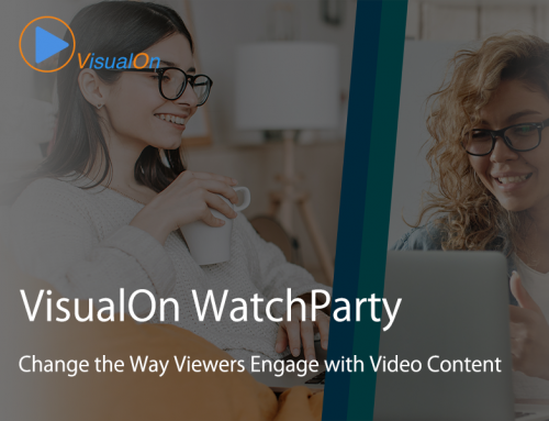 VisualOn Launches WatchParty to Breakthrough Limitations  of Existing Co-Watching Solutions