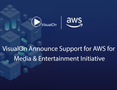 VisualOn Announces Support for AWS for Media & Entertainment Initiative